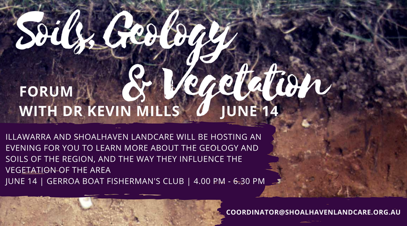 JUNE 14 | SOILS, GEOLOGY & VEGETATION FORUM
